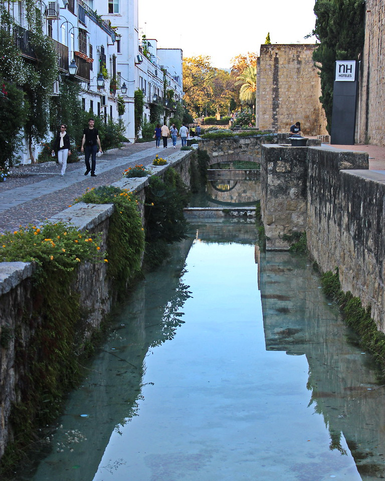Series of Pools near the Walled Old Jewish Quarter
