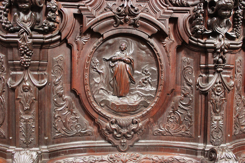 Choir Seat Carving