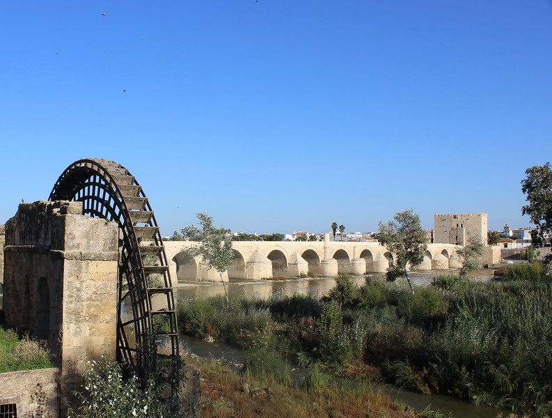 Roman Bridge and Water Wheel