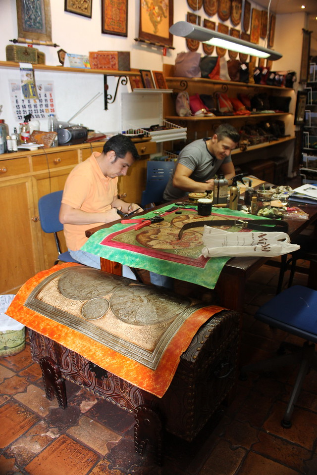 Ancient Map Making Shop