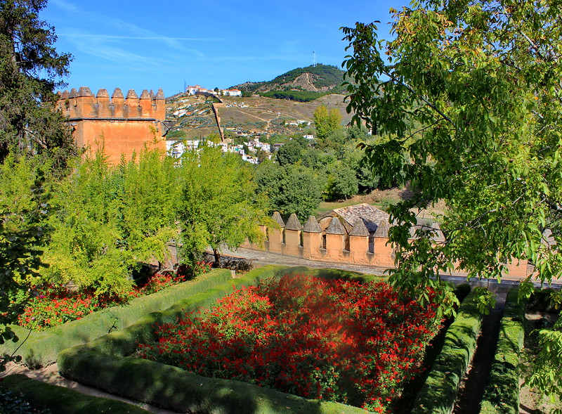 Tower and Generalife Gardens