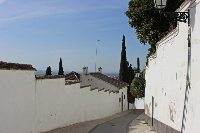 Residential Neighborhood near the Alhambra