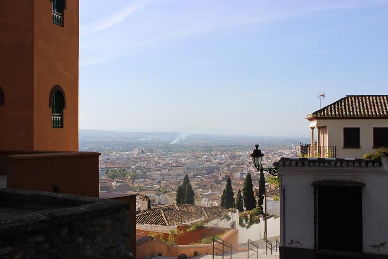 Granada from Plaza Arquitecto Garcia de Paredes