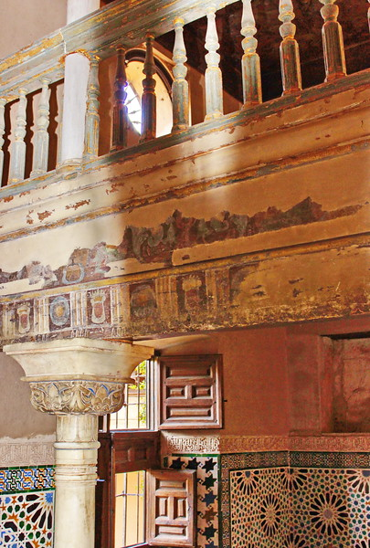 Mosaic Tiles and Columns