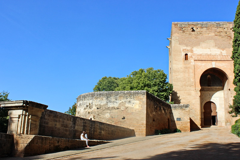 Entrance to the Alhambra