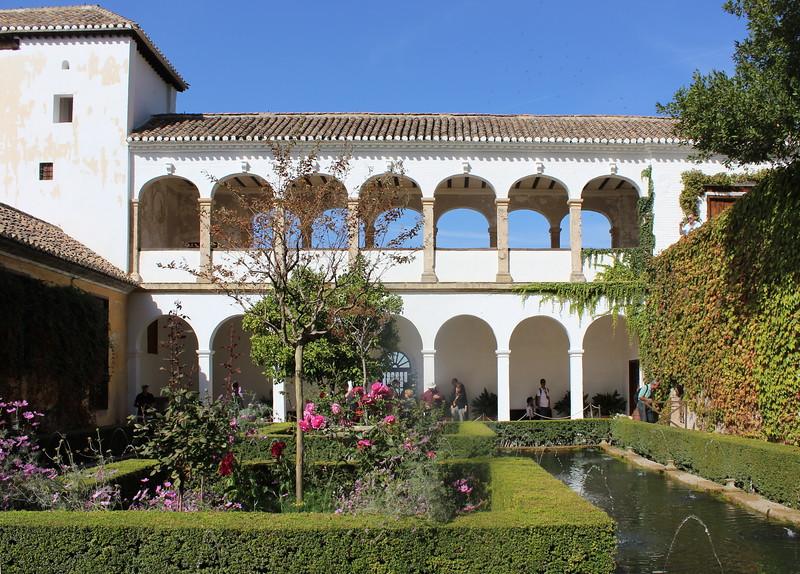 Generalife Garden Pool