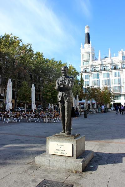 Fredrico Garcia Lorca Statue