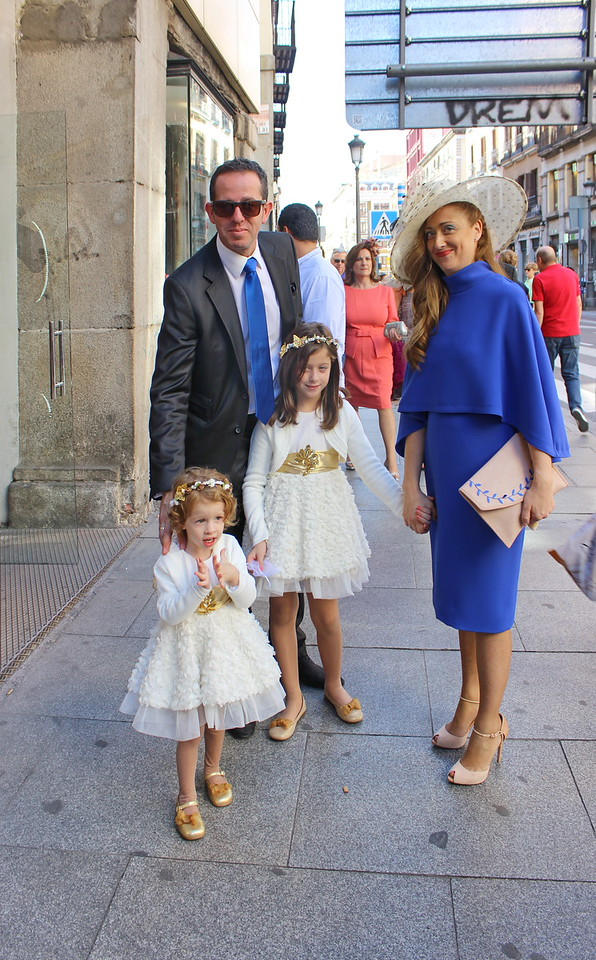 Spanish Family Attends a Wedding