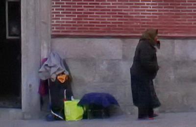 Homeless in Madrid