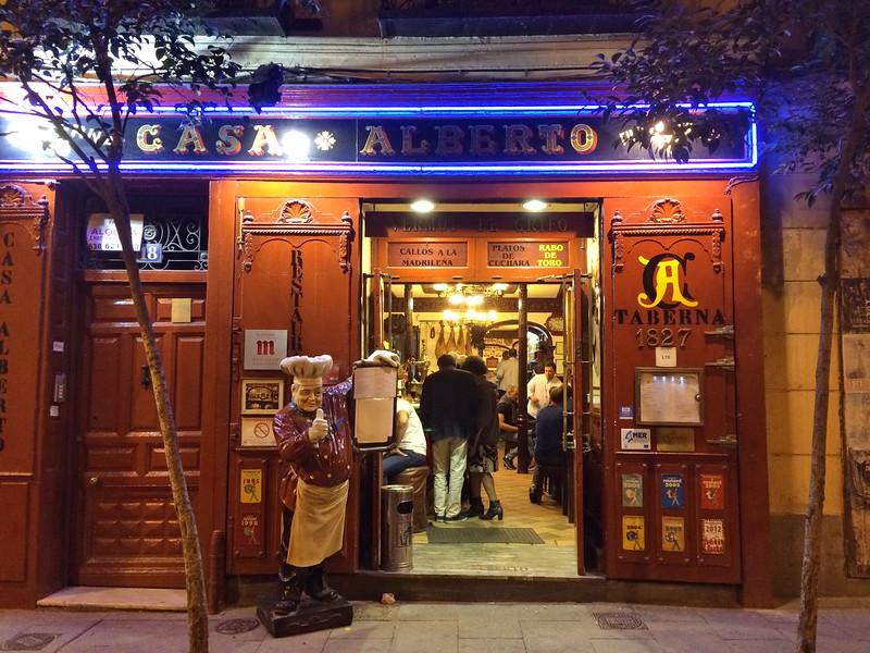 Casa Alberto Taberna Entrance