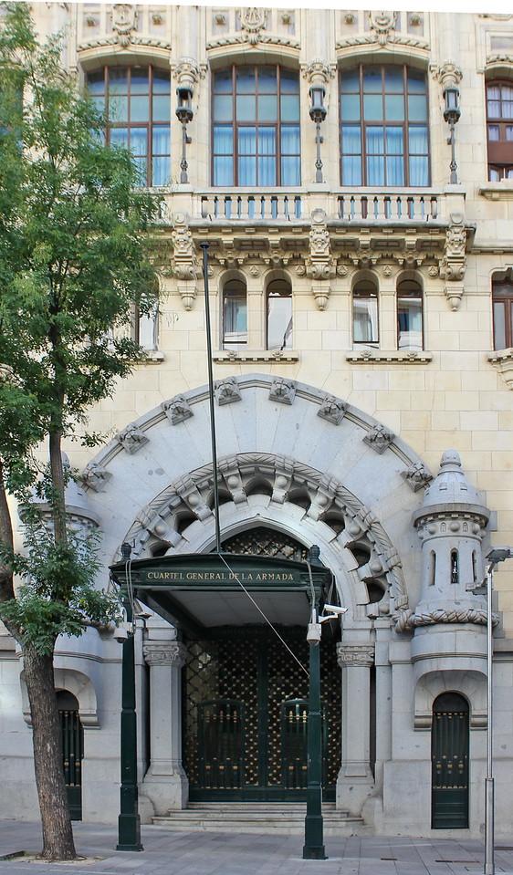 Cuartel General de la Armada Entrance