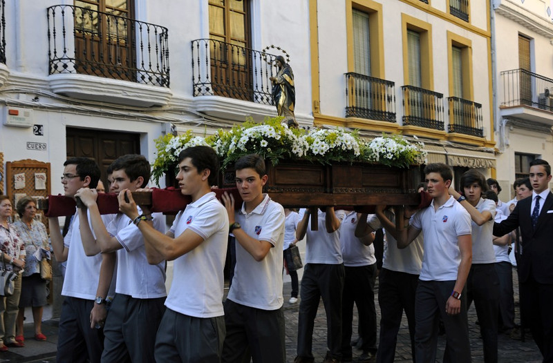 Religious procession, Cordoba, Tues 6 May 2014 2.