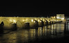Roman bridge, Cordoba, Tues 6 May 2014.  Looking south east over the River Guadalquivir.  The bridge was built in the 1st century BC so is 2000 years old.