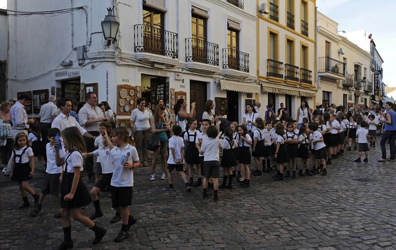 Religious procession, Cordoba, Tues 6 May 2014 1