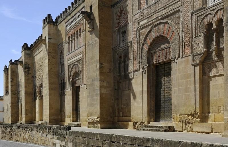 Mezquita, Cordoba, Wed 7th May 2014 1.  Eastern facade