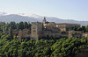 Alhambra, Granada, Mon 5 May 2014 3.  The Nasrid palace was built in the 14th century.  Behind at right is the 16th century palace of Charles V.