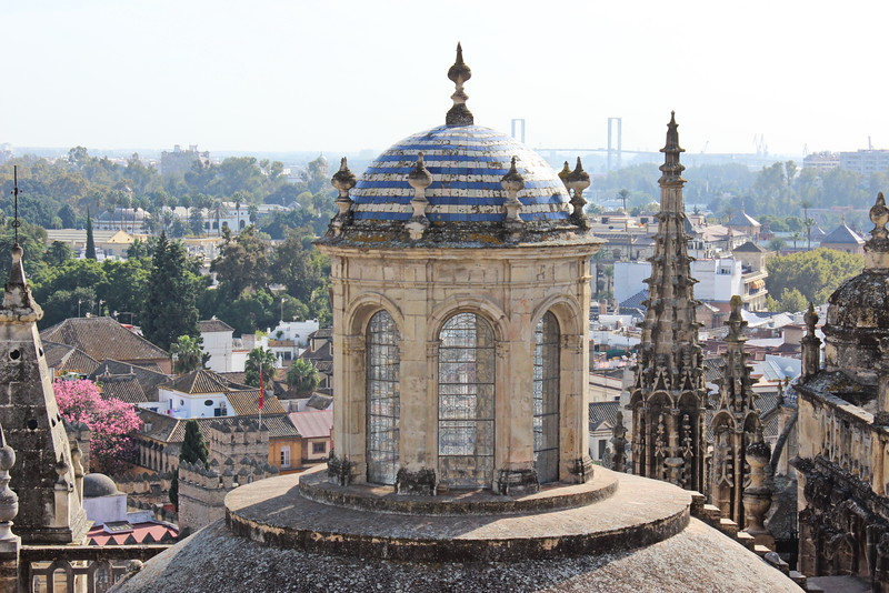 Top of the Seville Cathedral