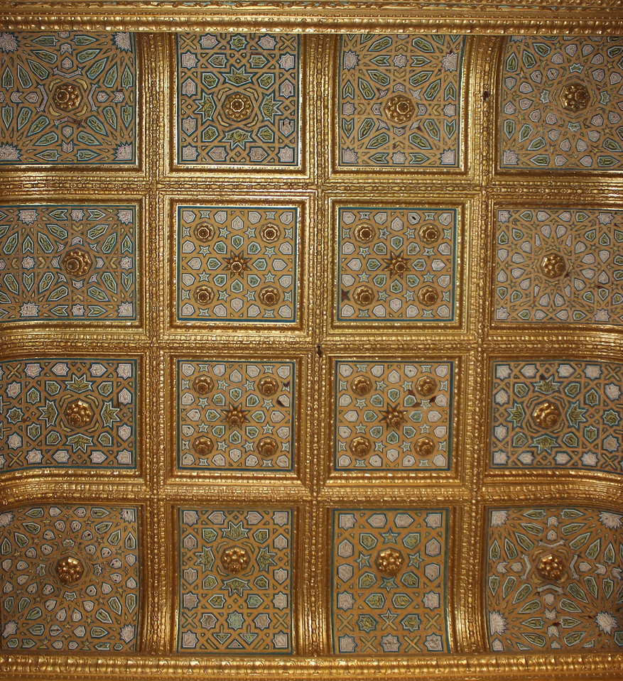 Felipe II Ceiling Room Symmetry