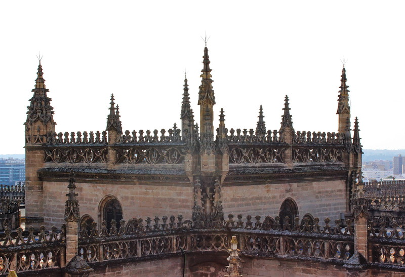Gothic Cathedral Spires