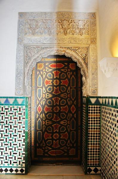 Doorway to the Prince's Suite