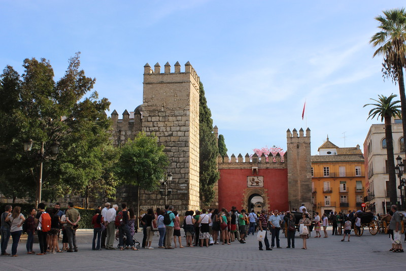 Real Alcazar Tower and Entrance