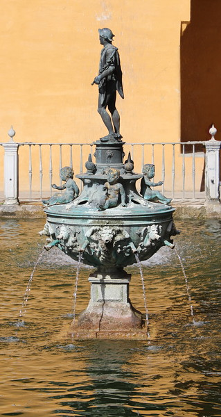 Mercury Fountain Sculpture