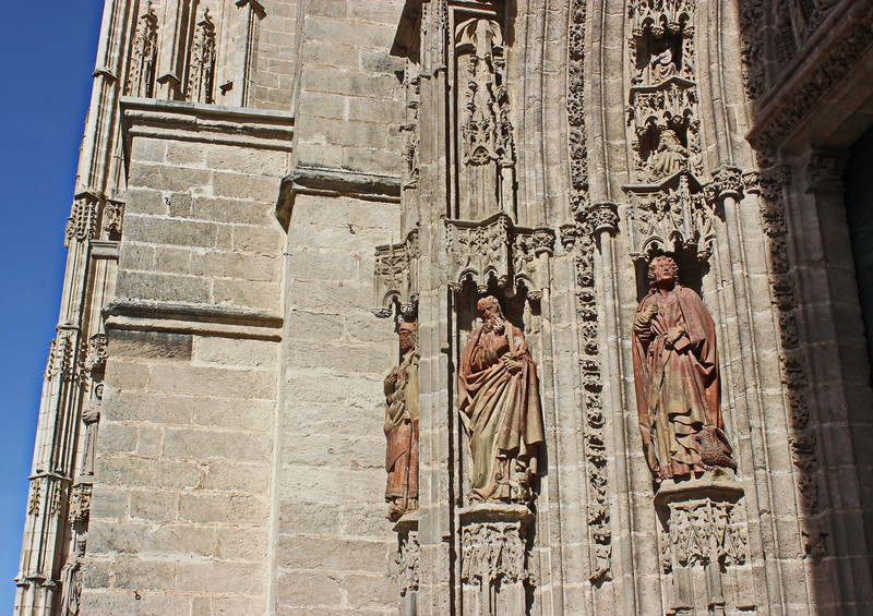 Cathedral Entrance Statues