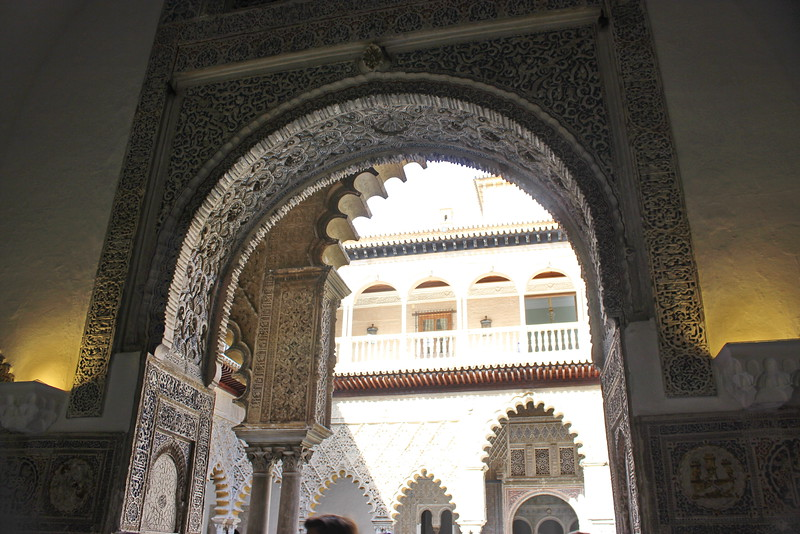 Arches of the Real Alcazar