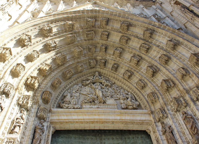 Seville Cathedral Entrance Arch