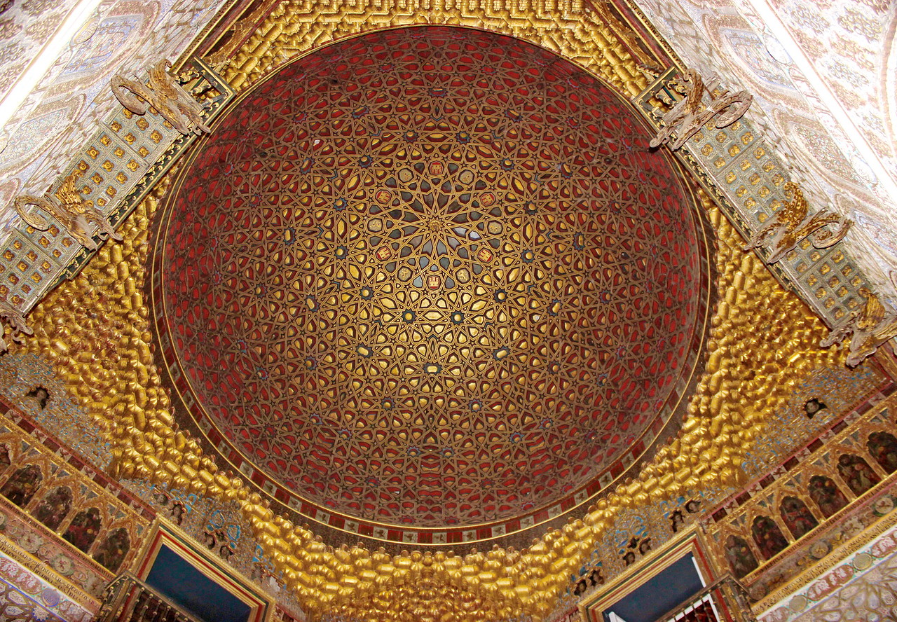 Domed Ceiling in the Hall of Ambassadors