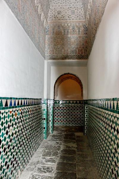 Hallway Tile Decorations