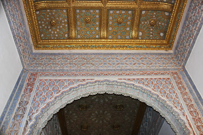 Arched Doorway and Ceiling