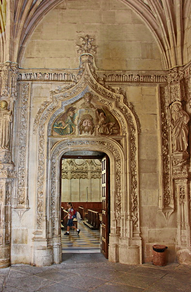 Sanctuary Entrance from the Cloister