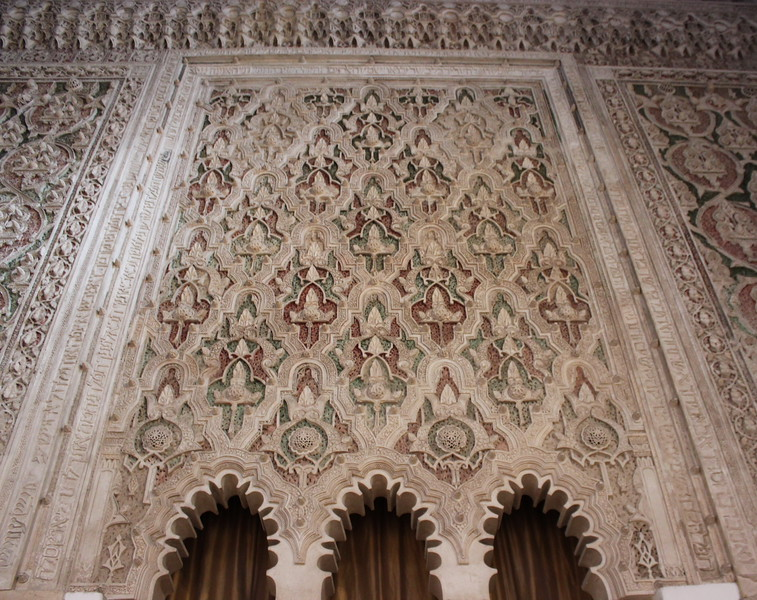 Wall Decoration above the Holy Ark
