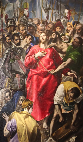 The Disrobing of Christ