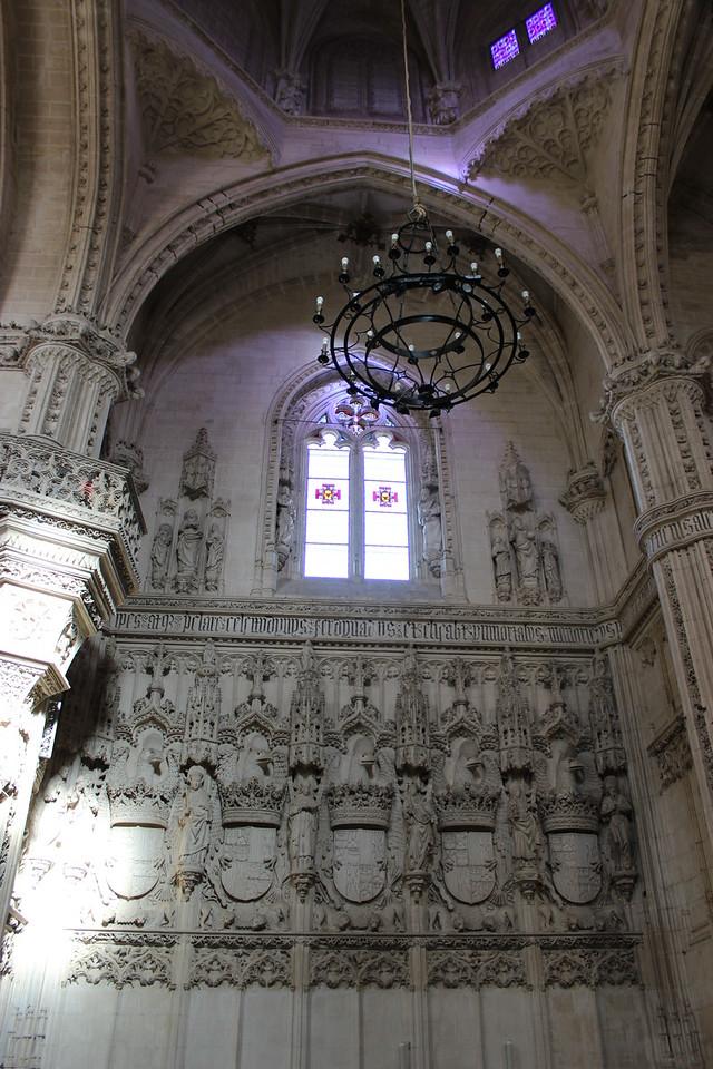 Interior of the Monastery of San Juan de los Reyes