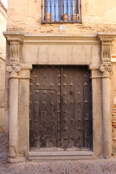 Door to a House