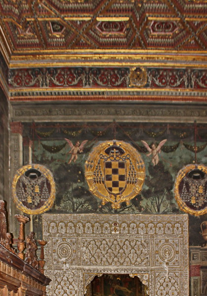 Toledo Cathedral Ceiling
