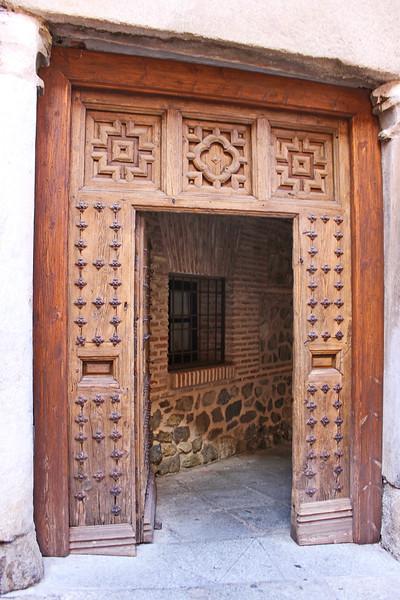 Studded Doorway