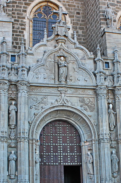 Entrance of the Monastery of San Juan de los Reyes