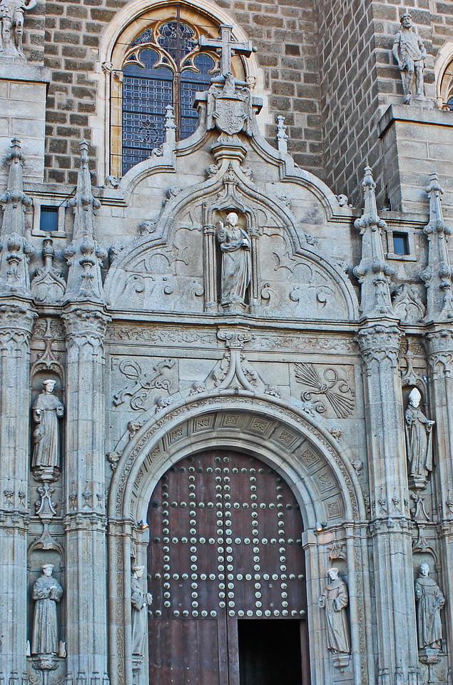 Entrance of the Monastery of San Juan de los Reyes