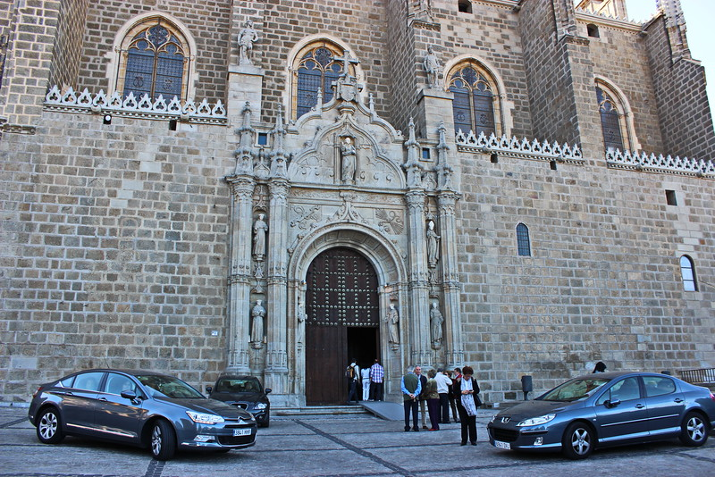 Monastery of San Juan de los Reyes Entrance