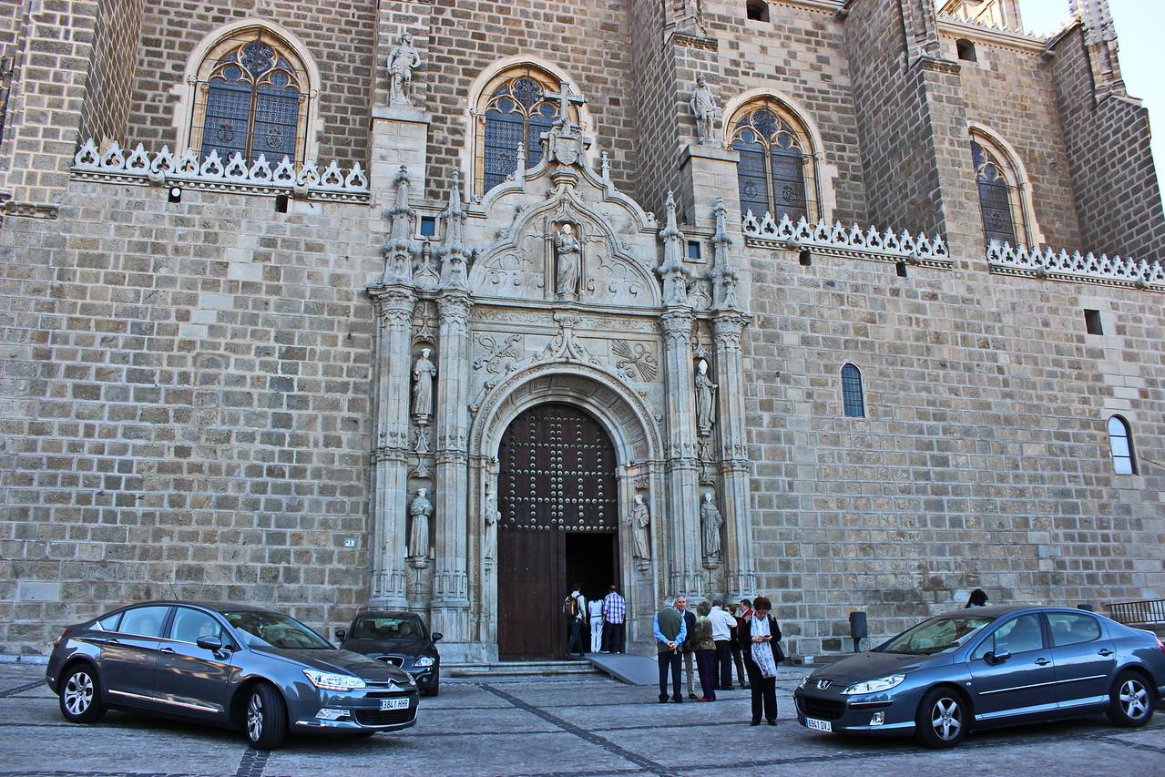 Monastery of San Juan de los Reyes Entrance