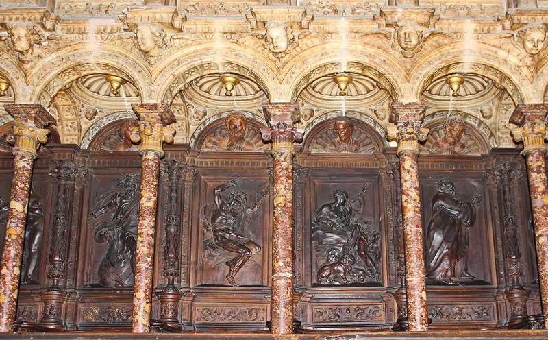 Choir Stall Carvings