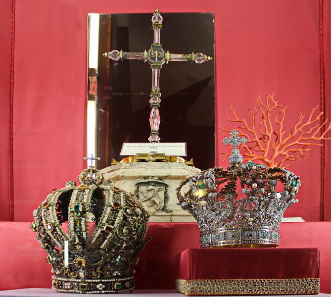Crowns of the Virgin of Sagrario