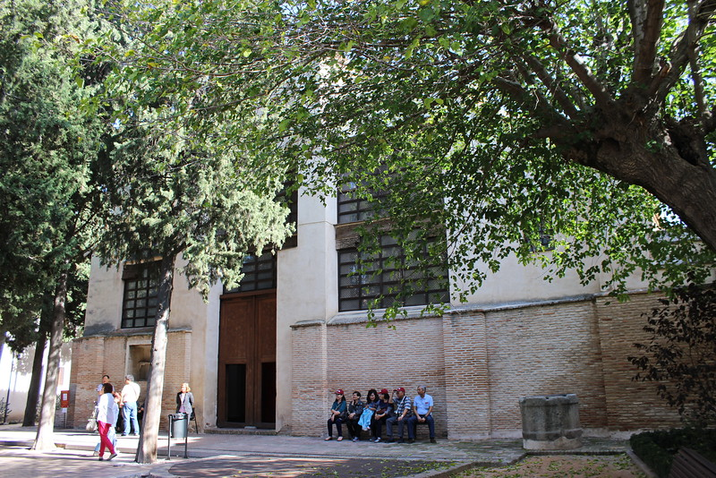 La Sinogoga del Transito Entrance