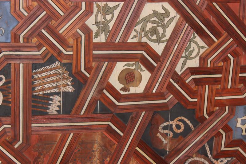 Mudejar Ceiling Detail