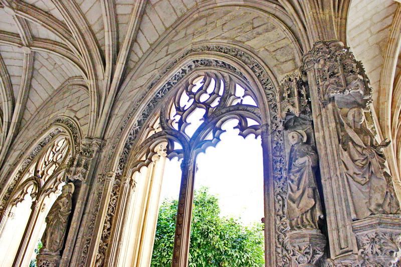Cloister Garden Entrance