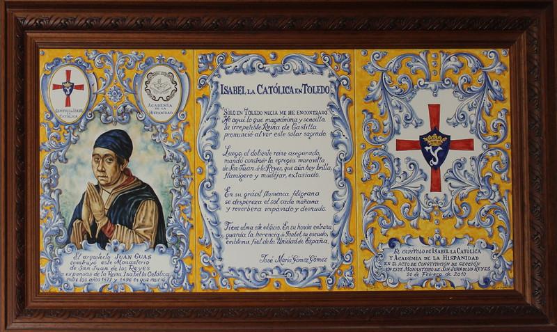 Isabel the Catholic of Toledo Proclamation