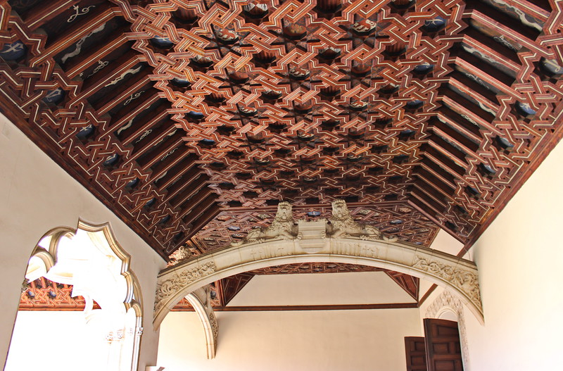 Mudejar Ceiling and Arch